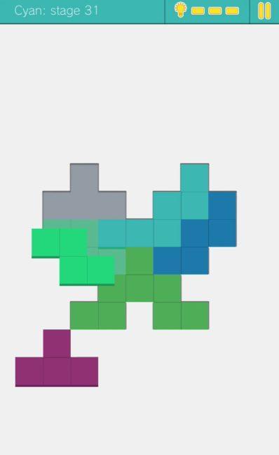 Fits パズルゲームで頭の体操の攻略