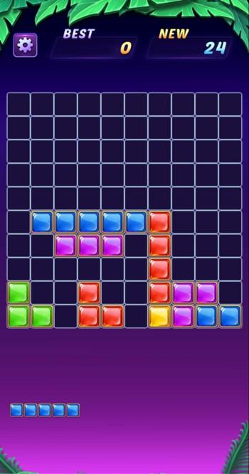 Block Puzzle Newのゲーム画面