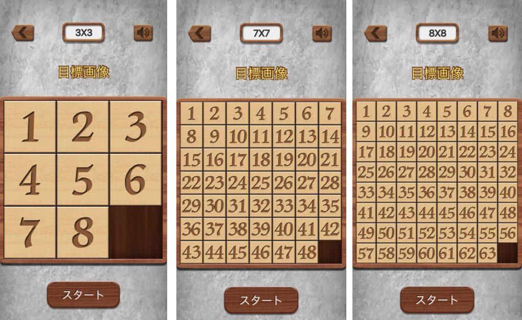 ナンバーパズルの難易度