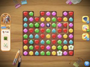 ガイド表示中のパズルモード