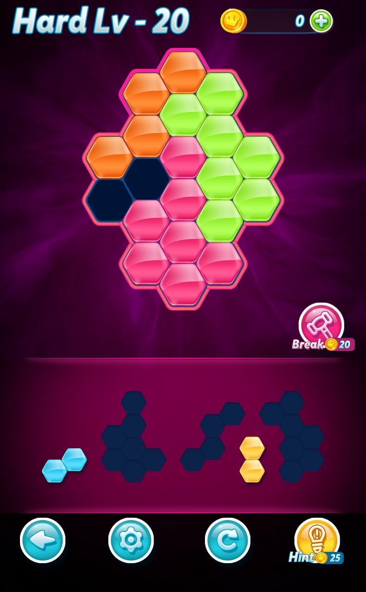 Block!Hexa Puzzle(ブロック!ヘキサパズル)のルール