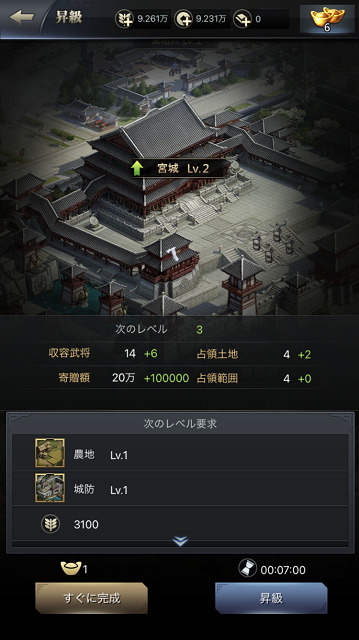 三国覇王戦記 内政
