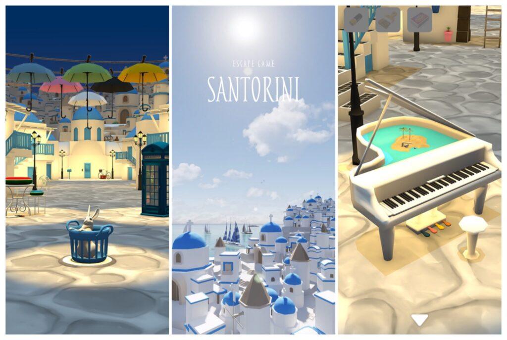 脱出ゲーム サントリーニ ~エーゲ海広がる青と白の街~