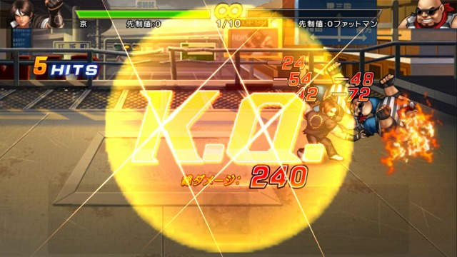 THE KING OF FIGHTERS '98UM OL 演出4